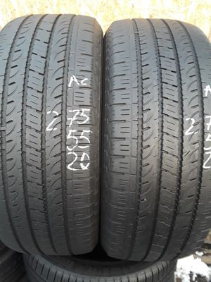 275/55-20 #2 tires for Sale in Alexandria, VA