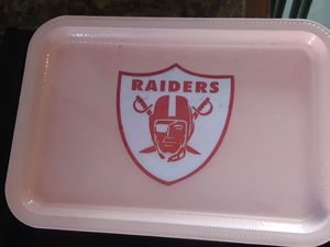 Raiders rolling tray Customize for Sale in North Las Vegas, NV
