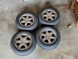 """Rox 15"""" inch rims with tires multi pattern OBO for Sale in Puyallup, WA"""