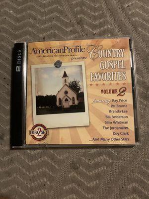 American Profile: Country Gospel Favorites 2 for Sale in San Bernardino, CA