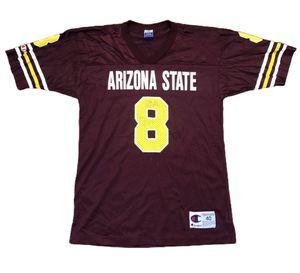 Arizona State Sun Devils ASU Vintage Champion Football Jersey 8 - Mens Medium NCAA for Sale in Tempe, AZ