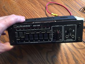 VINTAGE ALPHASONIK AEQ-720B EQUALIZER for Sale in Plano, TX