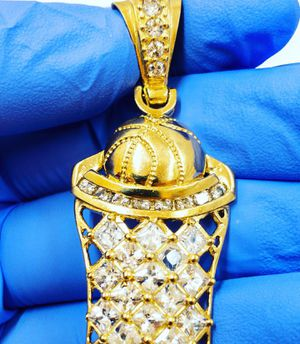 10k gold basketball hoop charm for Sale in Newington, CT