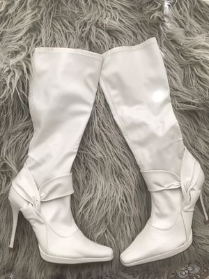 Women's White Heeled Boots for Sale in Westminster, CO