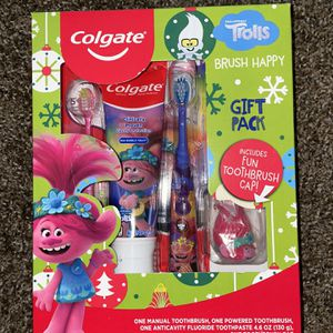 Trolls Tooth Brush Set For Kids for Sale in El Monte, CA