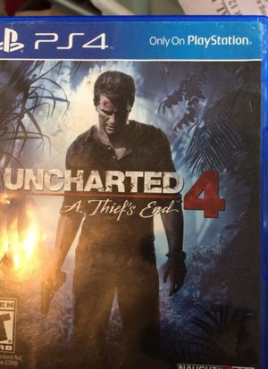 Uncharted 4 PS4 game for Sale in Philadelphia, PA