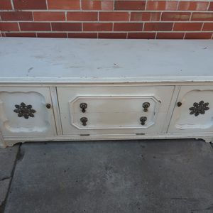 Antique Wood Bench With Storage for Sale in Littleton, CO