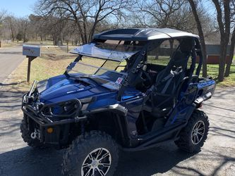 2012 Can An Commander 1000xt Limited Fox Suspension Clean Title Eps for Sale in Fort Worth,  TX