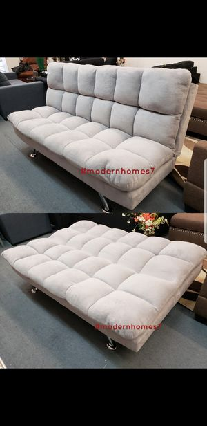 Super comfortable sofa bed sleeper couch futon , brown available for Sale in Rancho Cucamonga, CA