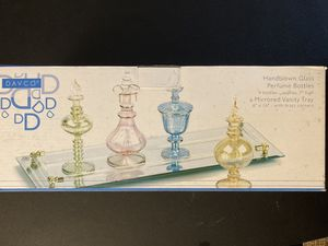 Davco Handblown Glass Perfume Bottles for Sale in Columbia, MD