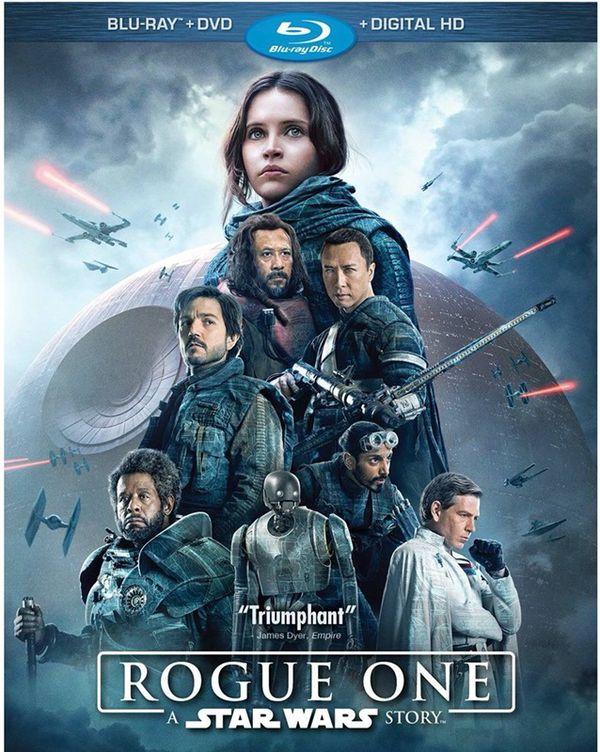 Brand new Rogue One: A Star Wars Story (Blu-ray + DVD + Digital) 3 Disc