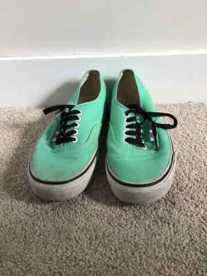 Vans mint green Nike converse for Sale in Chesapeake, VA