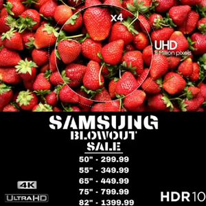 """50"""" SAMSUNG 7 SERIES 4K HDR UHD SMART TV for Sale in Rancho Cucamonga, CA"""
