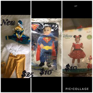 Halloween costumes infant for Sale in Santa Clara, CA
