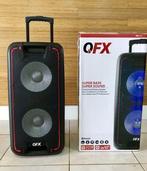 Speaker Bluetooth,3000w,radio,karaoke,recargable para la playa😎,USB,AUX,rueda,luz LD,ecualizador for Sale in Hialeah, FL
