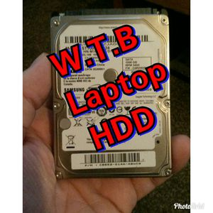 Need Laptop HDD. Must be Thin/7mm for Sale in North Royalton, OH