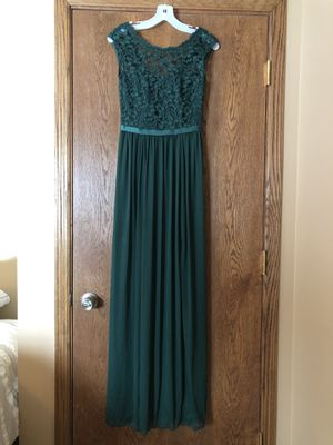 Bridesmaids Dress Juniper Green for Sale for sale  North Branch, MN