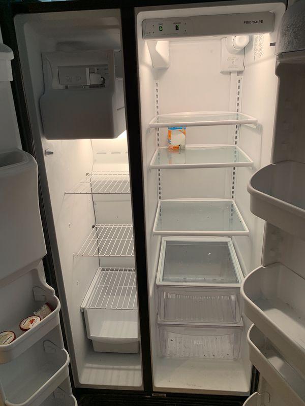 Refrigerator stove and dishwasher