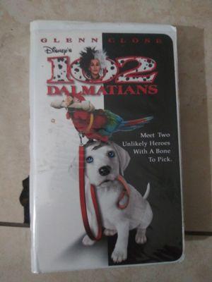 Walt Disney 102 Dalmations om vhs perfect condition for Sale in Hialeah, FL