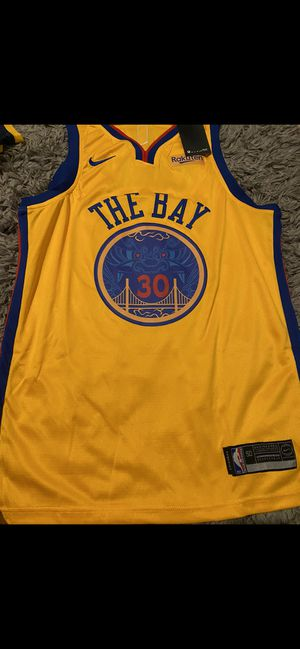 Warriors Jersey Stitched new for Sale in San Jose, CA