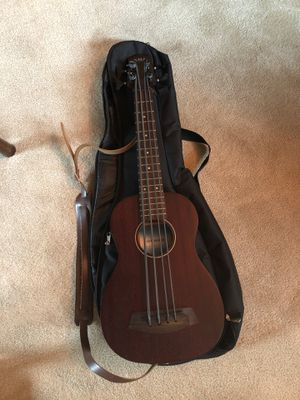 Kala UBass with leather strap and soft case for Sale in Stockton, CA