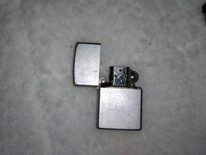 Unused preowned vintage 80s genuine zippo metal lighter for Sale in Miami, FL