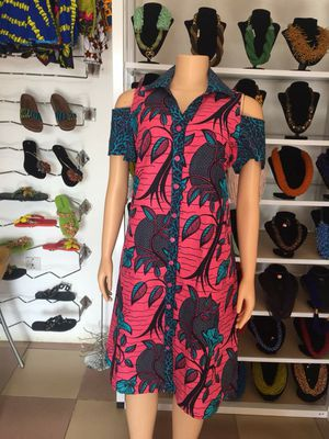 African print dress - size 12 for Sale in Baltimore, MD