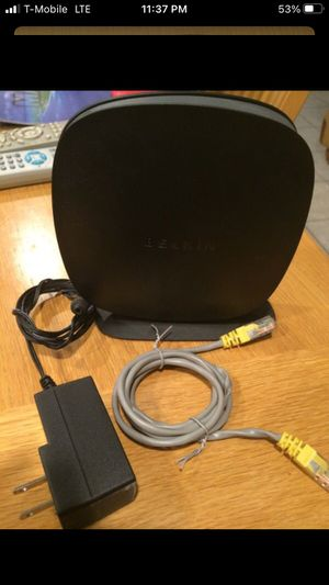 Belkin wifi N router for Sale in Glendale, AZ