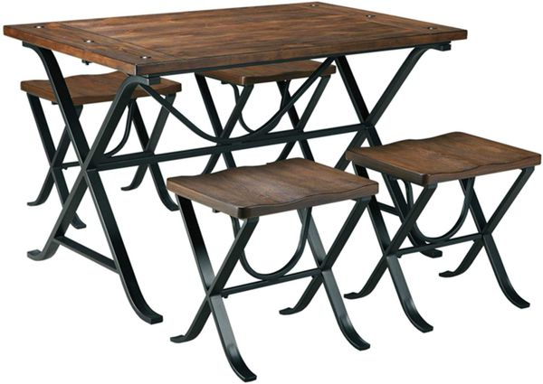 Ashley - Freimore Dining Room Table and Stools - Set of 5 Display Model Warehouse Sale
