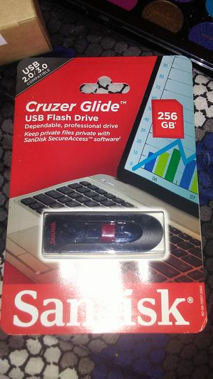 256 gb flash drive for Sale in Maryville, TN