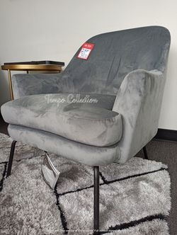 NEW, SILVER Accent Chair, SKU# TCA3000235 for Sale in Midway City,  CA