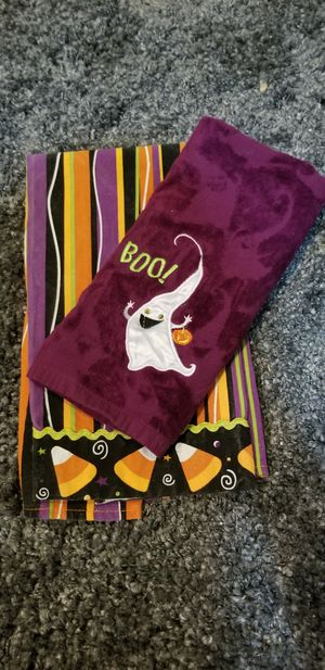 Halloween kitchen towels for Sale in New Albany, OH