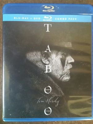 Taboo Season 1 One Blu-ray & DVD Combo Pack Opened Used for Sale in San Fernando, CA