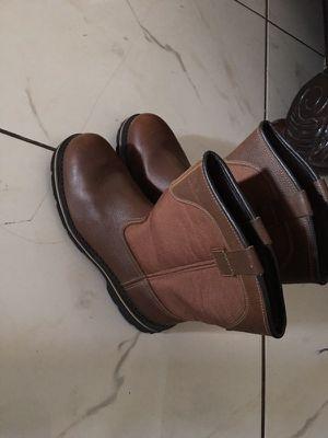 Work boots/ botas de trabajar for Sale in Casa Grande, AZ