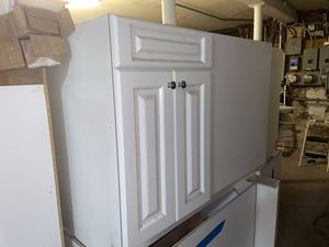 White kitchen cabinets Base Sink Cabinet for Sale in Boston, MA