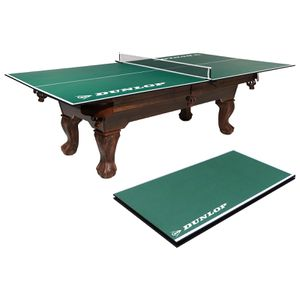 Dunlop Official Size 12mm 4 Piece Indoor Table Tennis Conversion Top, No Assembly Required, Green for Sale in Houston, TX