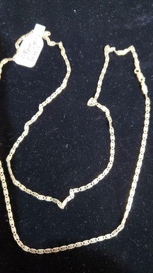 "10kt... 24"" Tri color G.u.c.c.i. Necklace for Sale in Phoenix, AZ"