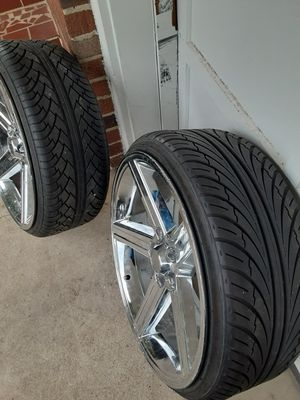"22"" iroc rims and tires for Sale in Chattanooga, TN"