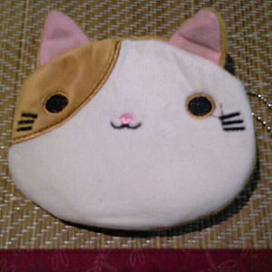 Used, Adorable Tabby Cat Keychain Change Purse for Sale for sale  Bronx, NY