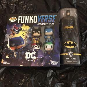 $30 dc Funko verse board game & Batman collectible pls read below for Sale in Los Angeles, CA