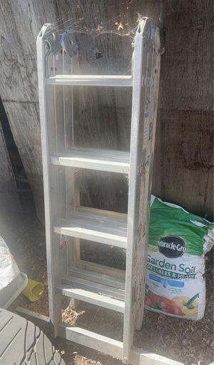 Aluminum folding ladder for Sale in Fremont, CA