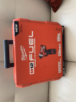 Milwaukee M12 Hex impact drive for Sale in Norridge, IL
