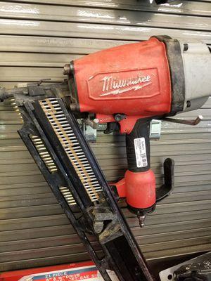 Milwaukee Nail Gun for Sale in Denver, CO