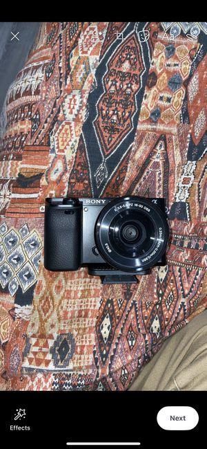 Sony alpha a6000 for Sale in Spokane, WA