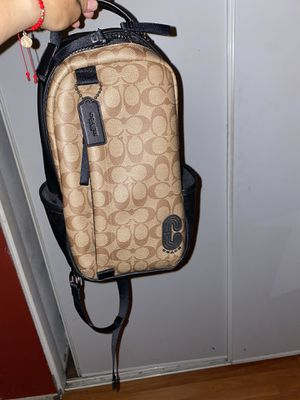 Coach side backpack for men for Sale in Fontana, CA
