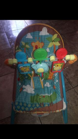 Rocker and chair for baby 15.00 for Sale in San Antonio, TX