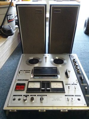1969 Sony TC-630 3 head from a old Calif star for Sale in Nipomo, CA