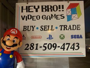 Jammin' @ Hey Bro!! Video Games for Sale in Houston, TX
