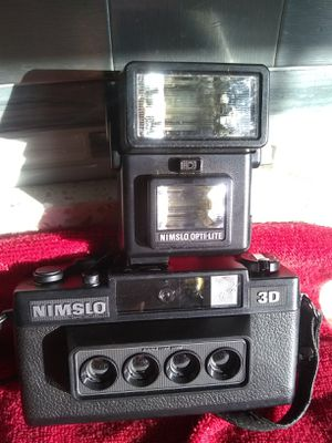 Nimslo 3D camera and flash for Sale in Mokena, IL