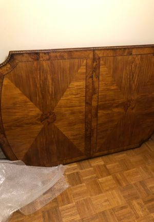 Dining Room Table (Pecan Wood) GREAT CONDITION!!! 8 ft!! for Sale in Pensacola, FL